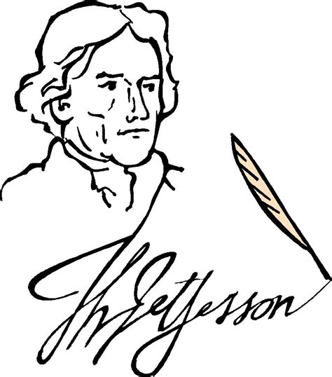 thomas jefferson declaration of independence coloring