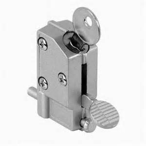 sliding door lock bar
