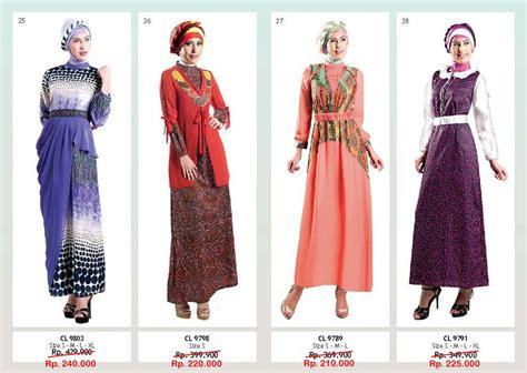 Dress Polos Hias Bunga busana muslim koleksi terbaru