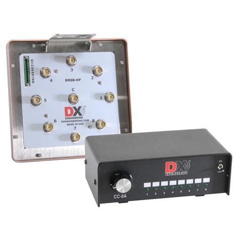 dx engineering rr8b remote antenna switch and