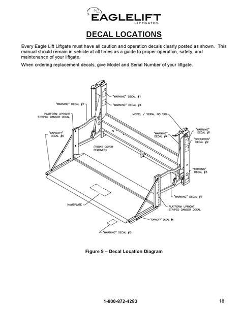 eagle lift gate diagram wiring diagram with description