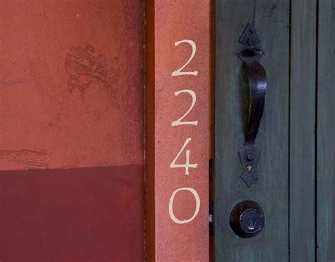 Decorative Door Numbers by House Numbers Door Decor Custom Made Vinyl Mailbox Address