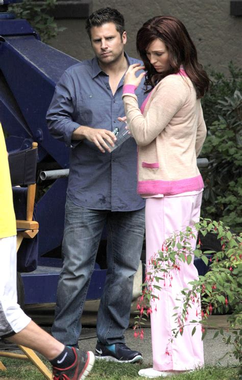 james roday dating james roday photos photos stars on the set of psych in