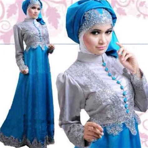 Baju Pesta Anak Warna Biru baju pesta muslimah 2016 newhairstylesformen2014
