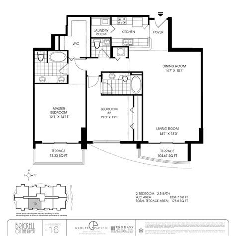 brickell on the river south floor plans brickell on the river condo floor plans