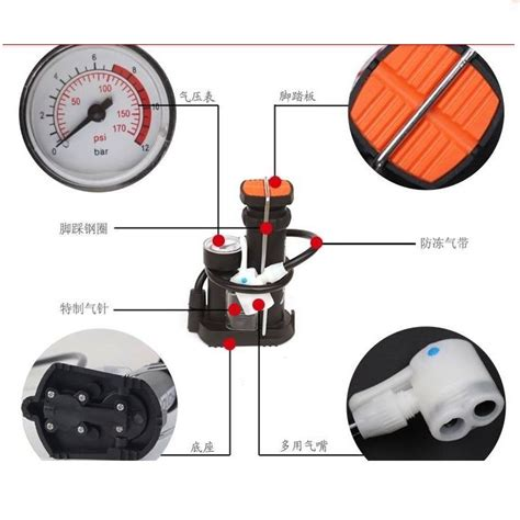 Pompa Tangan Mini Bodi Besi pompa angin mini portable praktis cepat dan tak perlu ngoyo lagi harga jual
