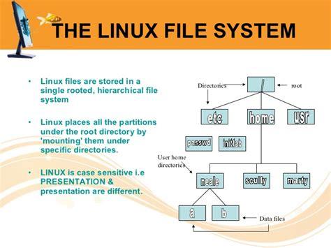 tutorial linux file system linux file system