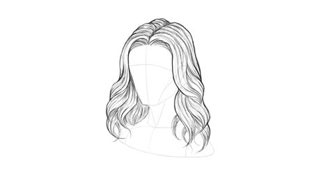 how to draw curly hair 12 steps with pictures wikihow how to draw hair step by step themekeeper com