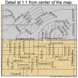 ridgecrest california map 0660704