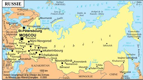 russia map and cities www mappi net maps of countries russia