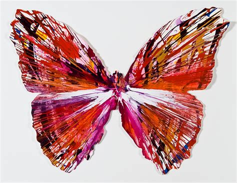 Butterfly Home Decor by L Espoir D Un Nouveau Damien Hirst La Star