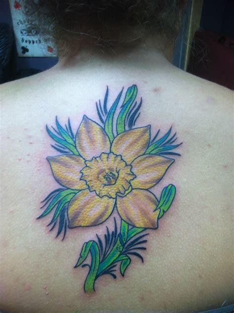 daffodil tattoo designs 30 lovely and peaceful daffodil designs