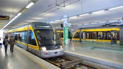 porto canha station metro do porto portugal racom