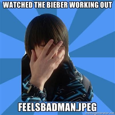 Working Out Meme - justin bieber working out i facepalm me the lifestyle