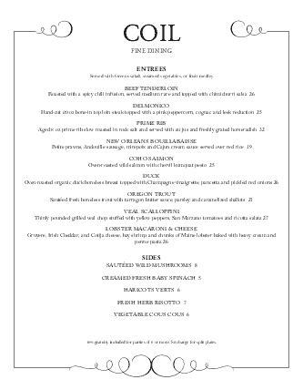design and dine menu fine dining food menu letter fine dining menus