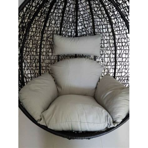 egg chair cushion cover replacement cushion set for swing egg pod wicker chair