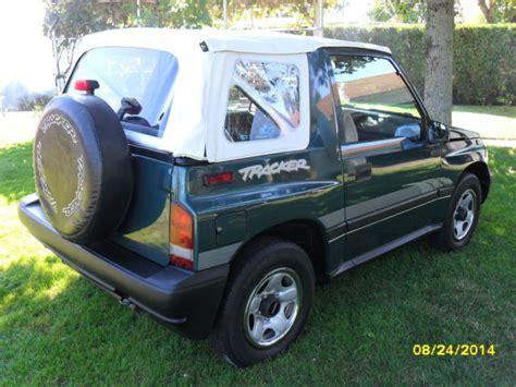 Suzuki Tracker Mint Geo Tracker Suzuki Clean Woodland Green Metallic4x4