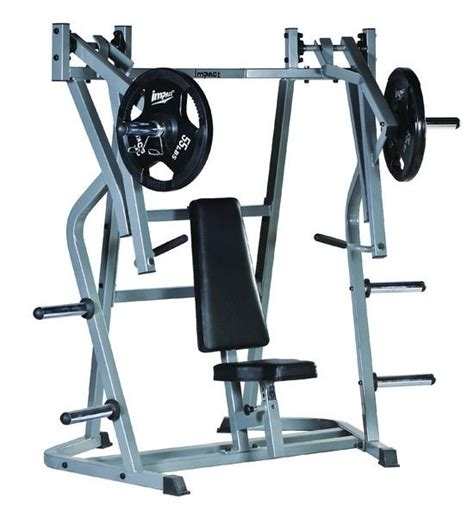 chest bench press machine elevation series sm780 individual converging seated