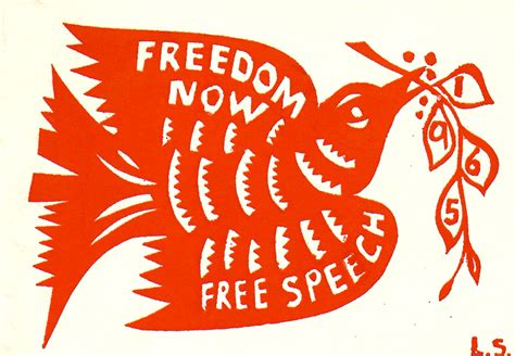 1965 Free Speech Movement Wandering Through Time And Place Free Speech
