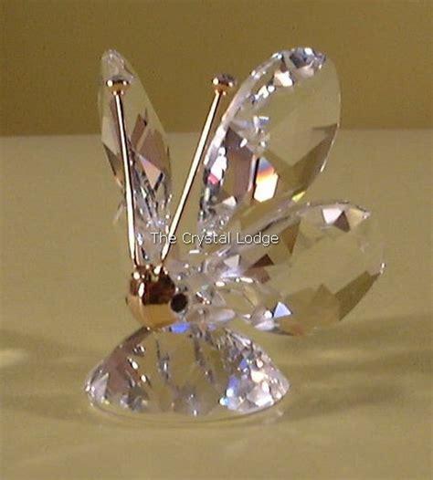 swarovski swarovski butterfly mini  crystal tips  gold