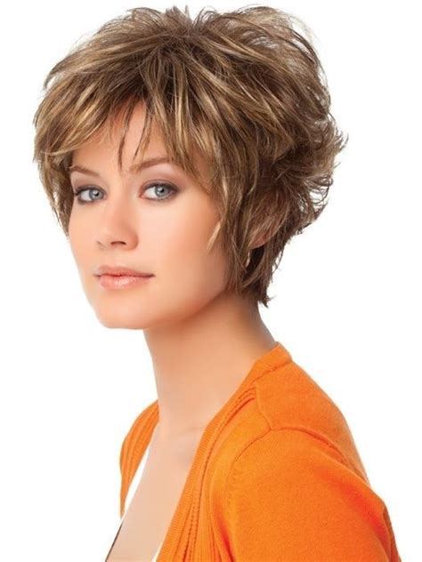 best cuts for regular women with jowls short layered haircuts for wavy hair