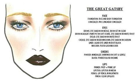 1920s great gatsby makeup the great gatsby inspired makeup the deco haus blog