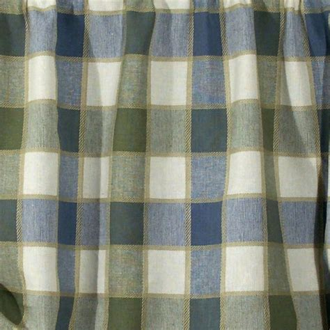 plaid draperies plymouth plaid curtain panel