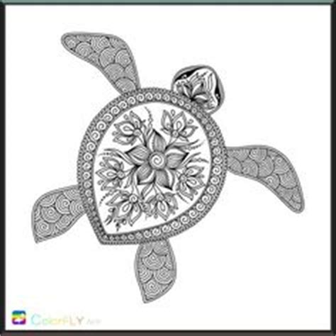 intricate turtle coloring page coloring stencils drawing on pinterest mandala