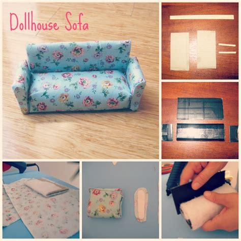 How To Make Paper Dollhouse Furniture - dollhouse furniture so far and paper pieced quilting