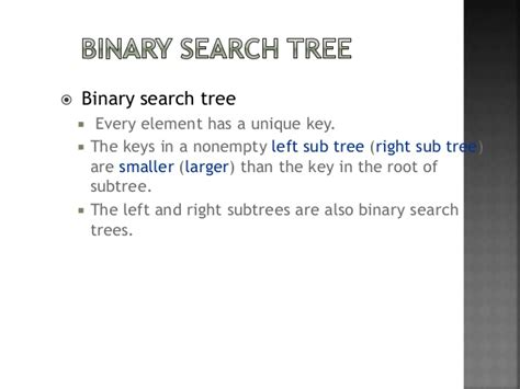 Best For Binary Search Threaded Binary Tree And Binary Search Tree