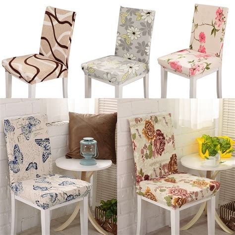 Kitchen Chairs Covers Seat Covers Kitchen Bar Dining Chair Cover Hotel