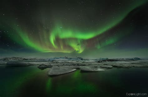 Northern Lights Landscaping Iceland Northern Lights Landscape Photography