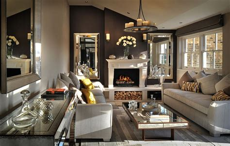 posh living rooms 30 mirrored coffee tables that add a sparkle to your home