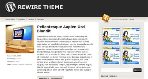 theme wordpress libre descarga libre 40 themes premium de wordpress