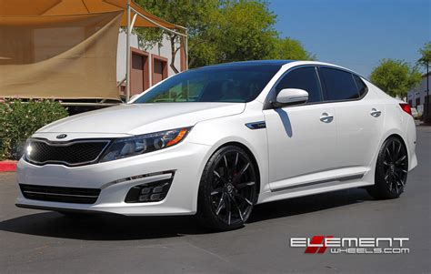 Kia Optima Wheel Size Lexani Css15 Chrome On Kia Optima Wheels