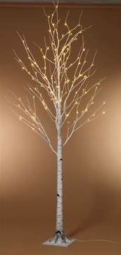 lighted birch trees 8 foot led lighted birch tree warm white ships free