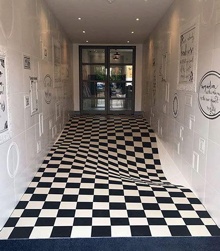 optical illusion floor