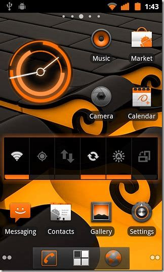 android themes xperia x8 android theme x8