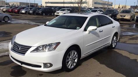 white lexus 2011 lexus certified pre owned white 2011 es 350 premium