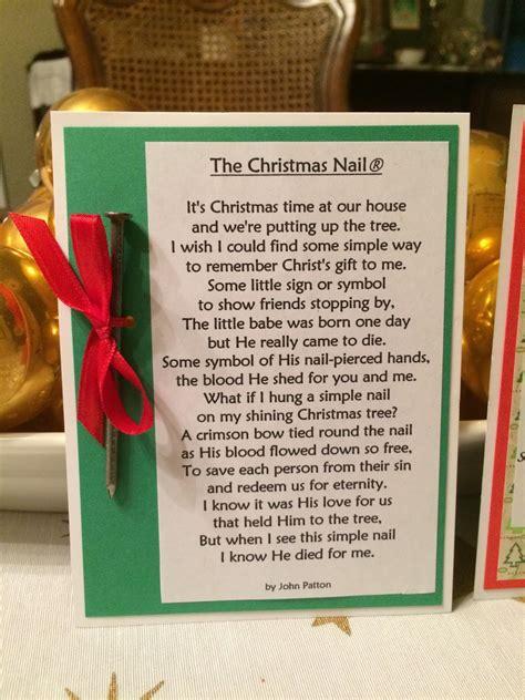 printable christmas nail poem oliva s creative quest the christmas nail