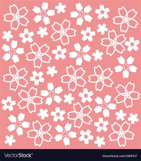 crafts stock images royalty free images vectors sakura pattern royalty free vector image vectorstock