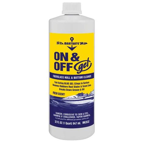 boat supplies hull marykate on and off gel hull bottom cleaner west marine