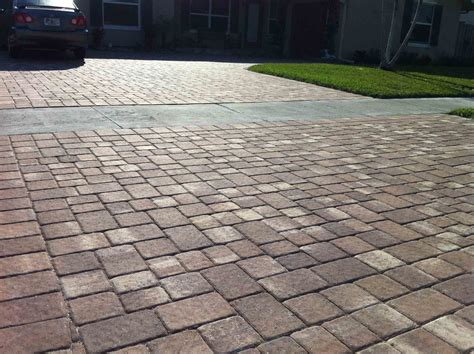 types of patio pavers different types of driveways daniel real estate