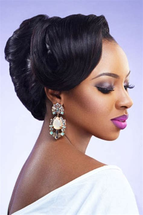 Bridal Hairstyles For Black Hairstyles by Wedding Hairstyles For Black American