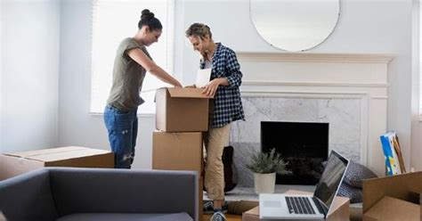 young couple room single family home vs apartment rental bankrate