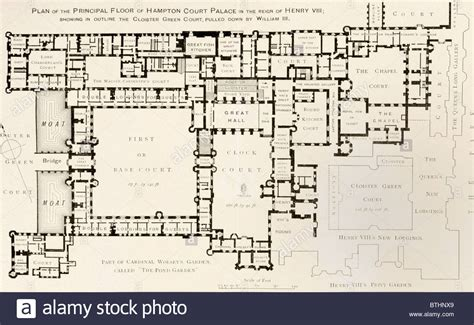 hton court palace floor plan court palace floor plan plan of principal floor of hton