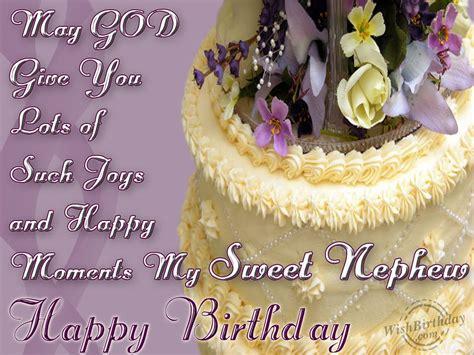 Happy Birthday Wishes For A Nephew Wishing Happy Birthday To A Sweet Nephew Wishbirthday Com