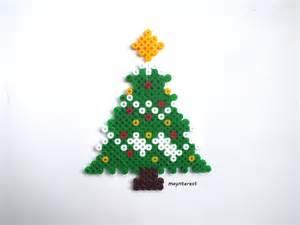 manualidades navidad 193 rbol o pino de navidad de hama