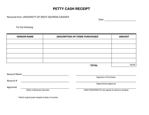 laravel 5 3 cashier customised receipt template petty receipt form template simple and easy to