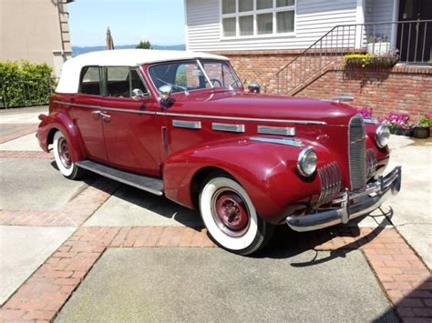 cadillac 4 door convertible 1940 lasalle by cadillac model 5029 4 door convertible